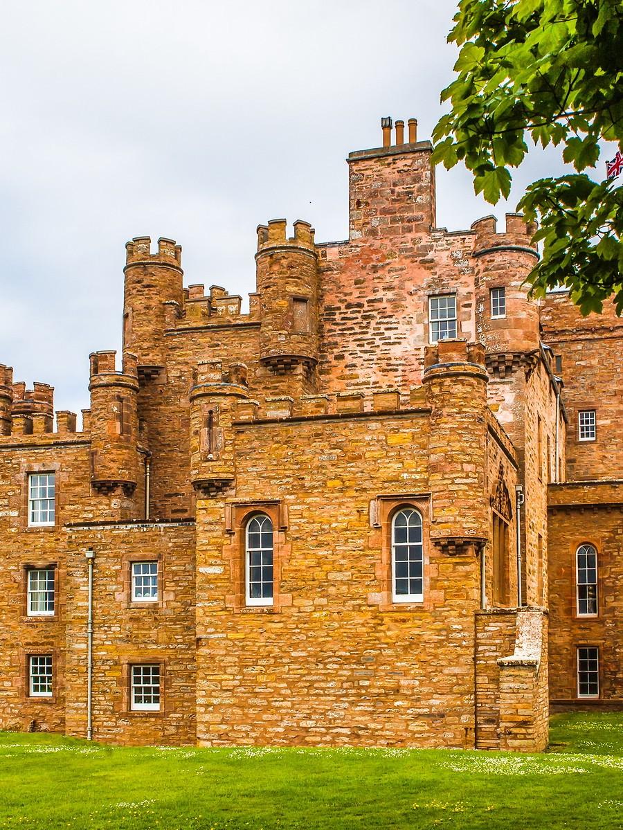 苏格兰梅城堡(Castle of Mey),花园散步_图1-8