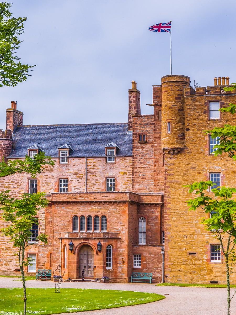苏格兰梅城堡(Castle of Mey),花园散步_图1-15