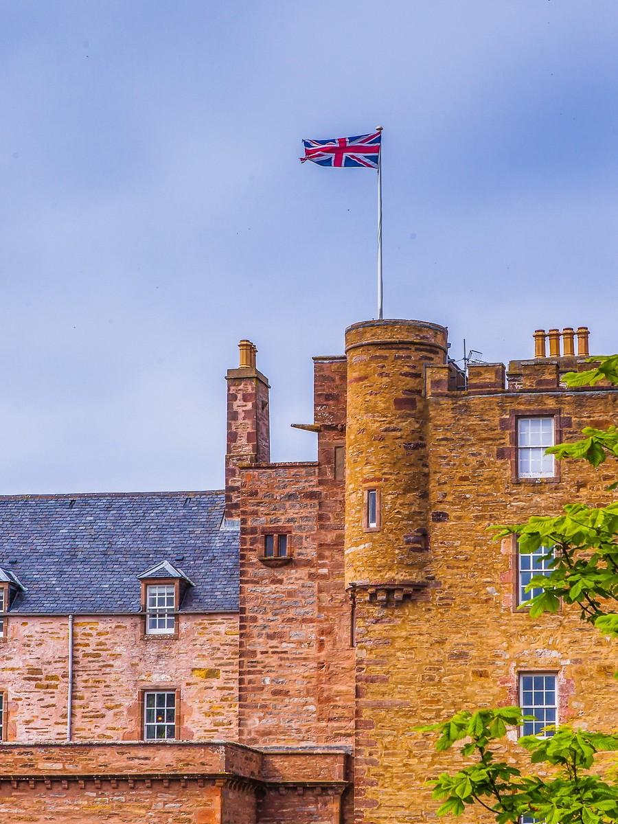 苏格兰梅城堡(Castle of Mey),花园散步_图1-21