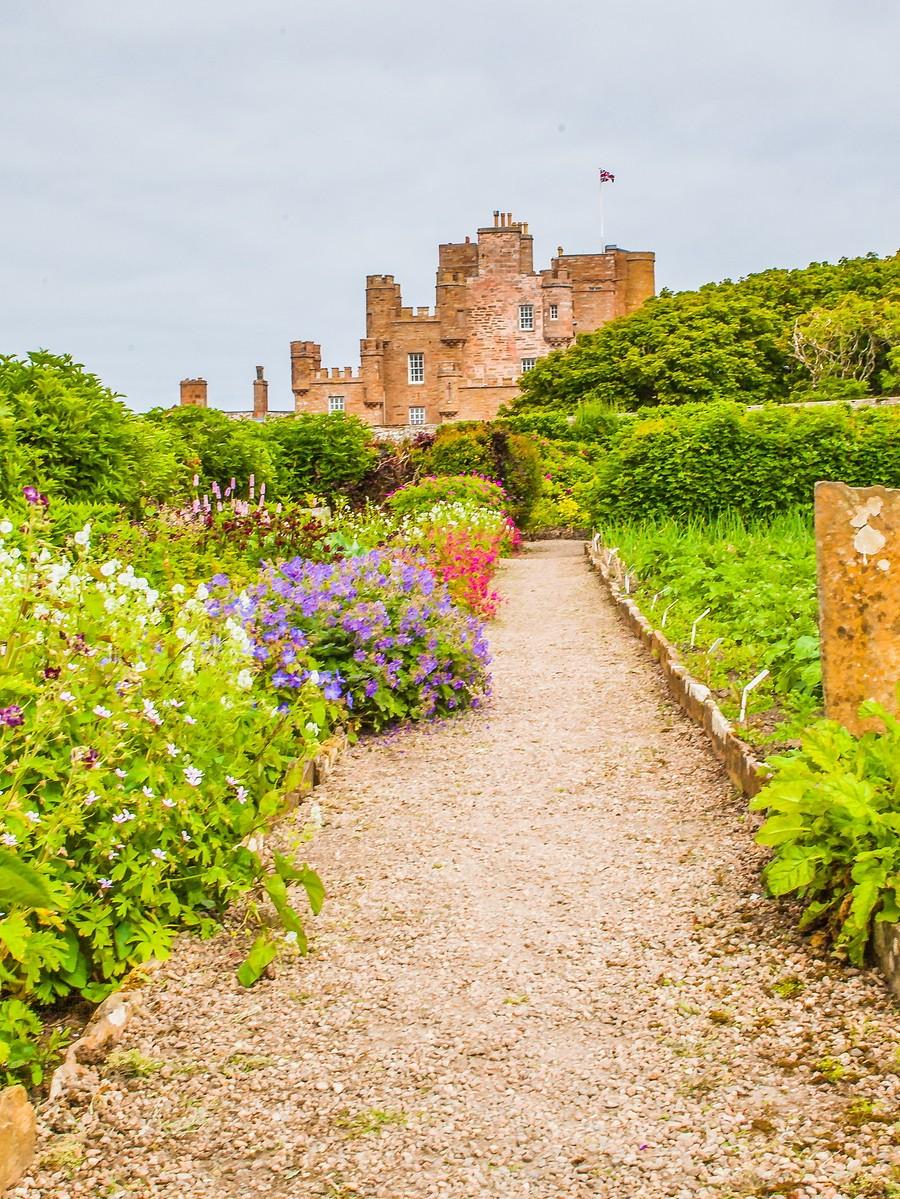 苏格兰梅城堡(Castle of Mey),花园散步_图1-23