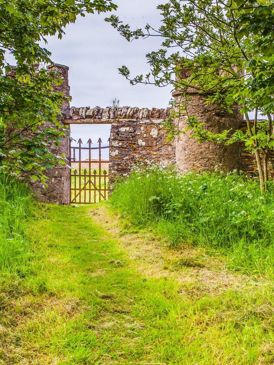 苏格兰梅城堡(Castle of Mey),花园散步_图1-22