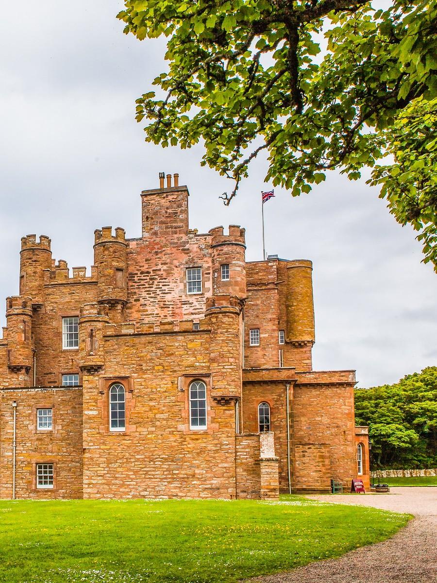 苏格兰梅城堡(Castle of Mey),花园散步_图1-24