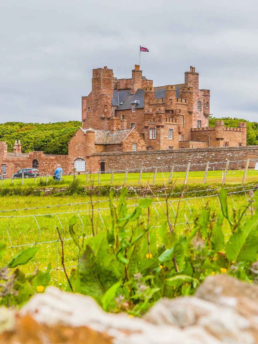 苏格兰梅城堡(Castle of Mey),花园散步_图1-29