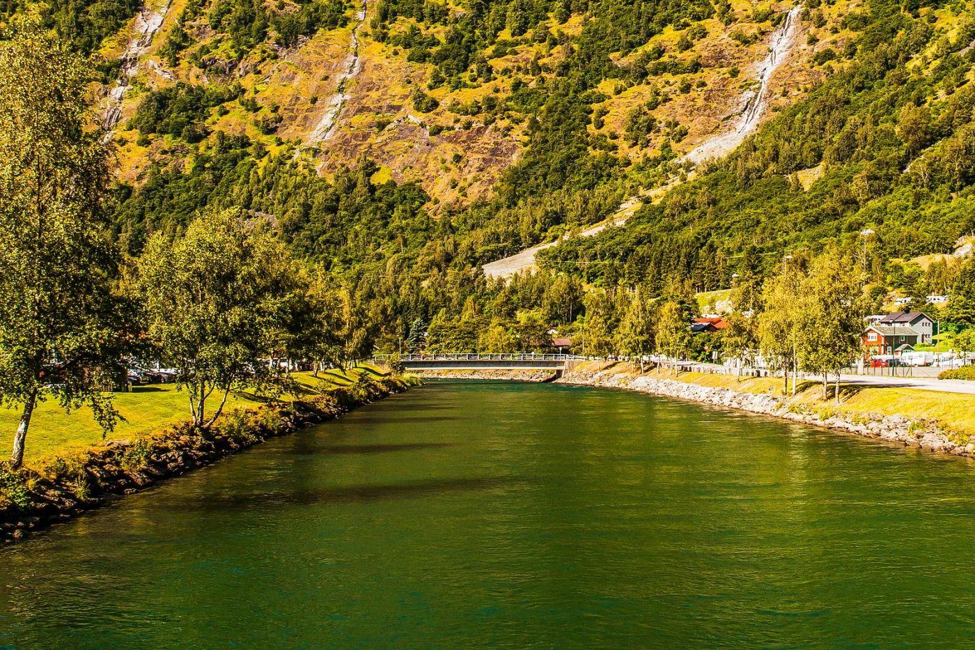 挪威弗拉姆铁路(Flam Railway),美丽的小站_图1-34