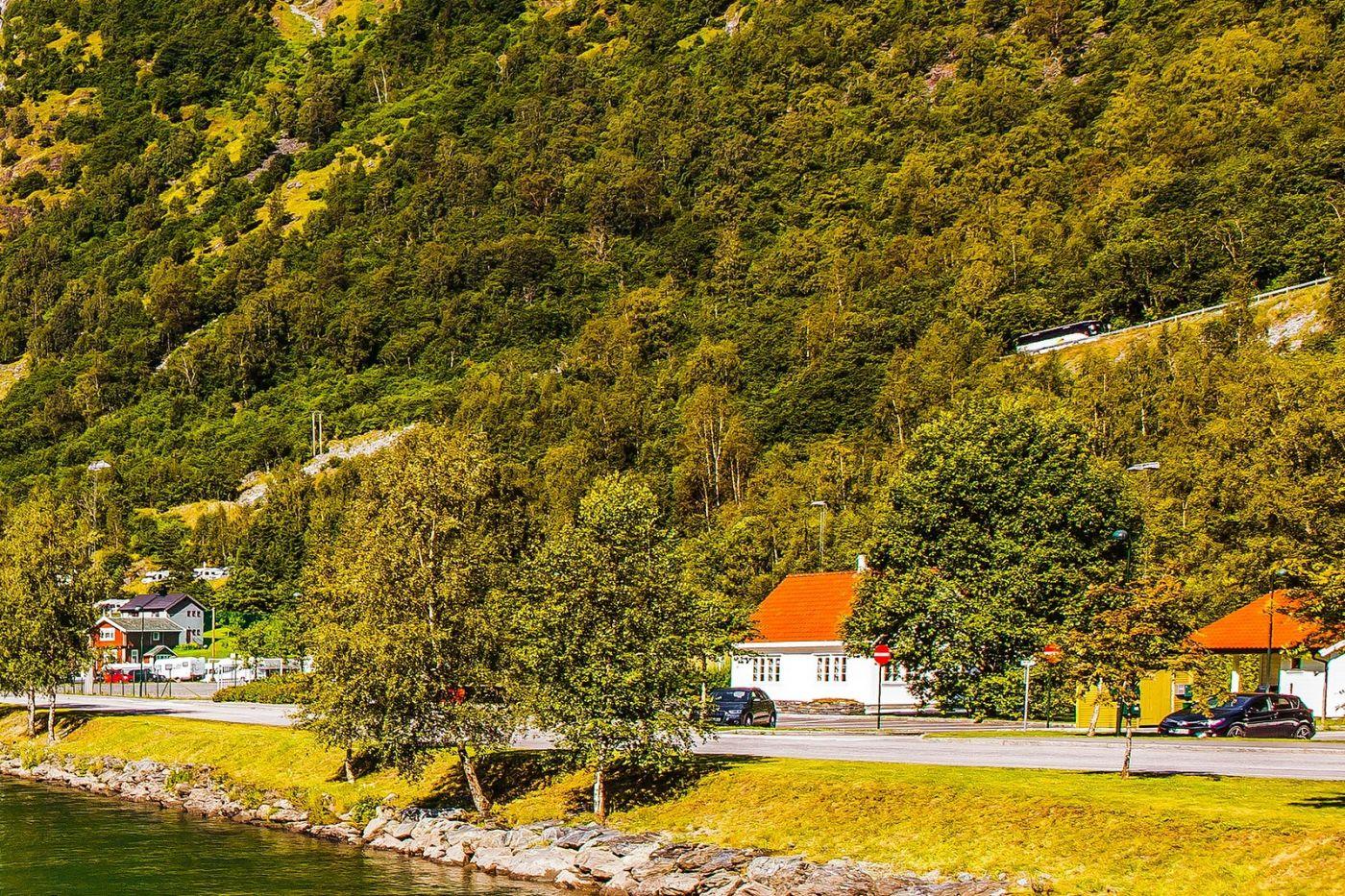 挪威弗拉姆铁路(Flam Railway),美丽的小站_图1-29