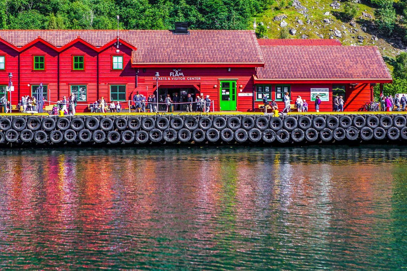 挪威弗拉姆铁路(Flam Railway),美丽的小站_图1-30
