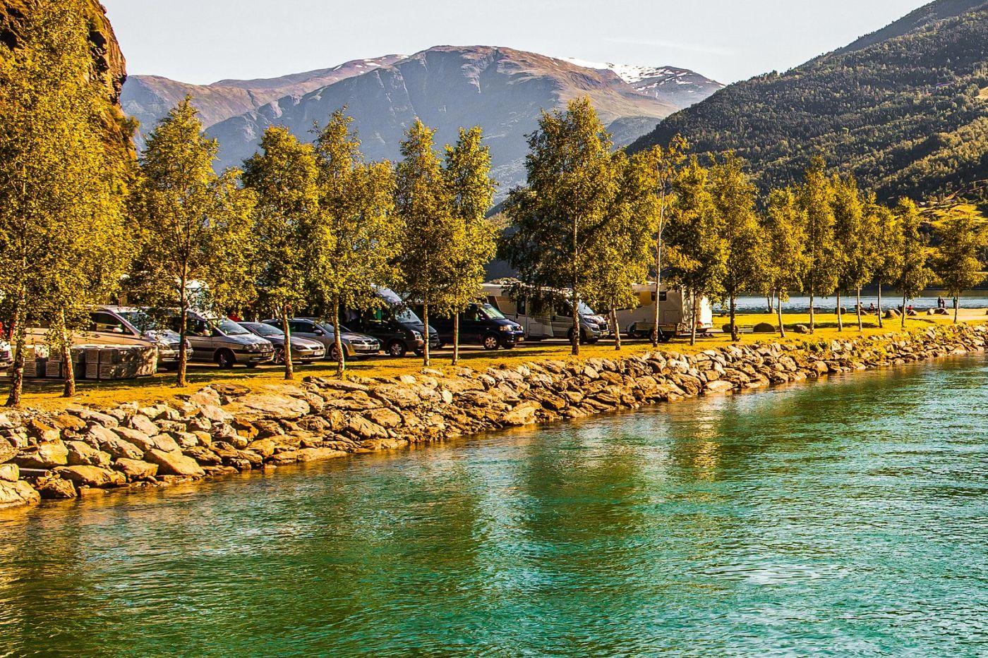 挪威弗拉姆铁路(Flam Railway),美丽的小站_图1-24