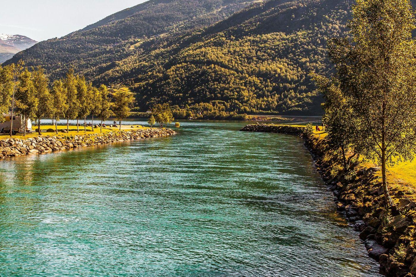 挪威弗拉姆铁路(Flam Railway),美丽的小站_图1-20