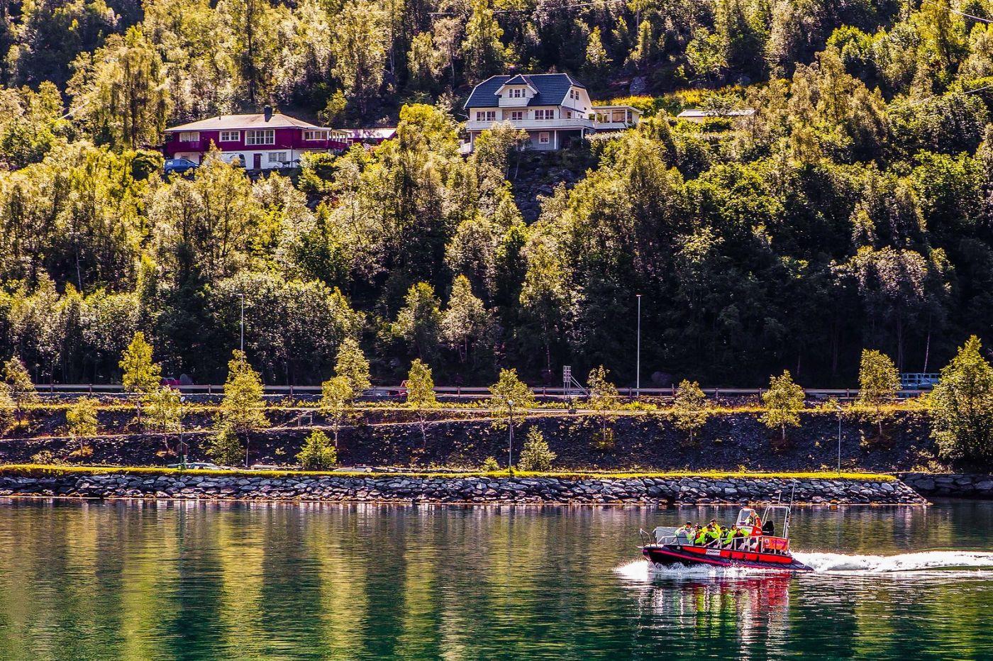 挪威弗拉姆铁路(Flam Railway),美丽的小站_图1-9