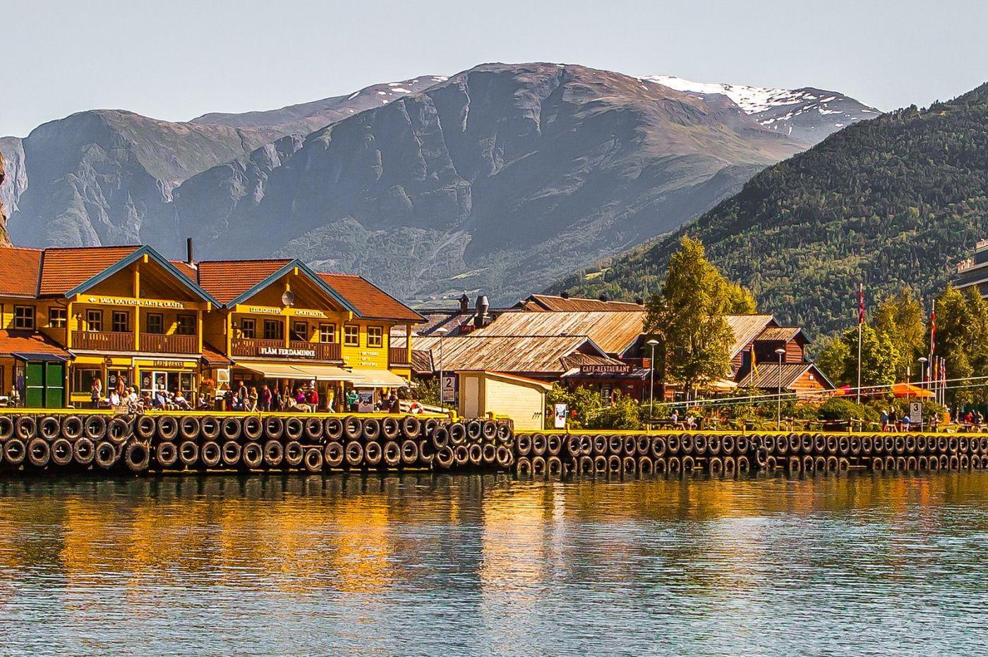 挪威弗拉姆铁路(Flam Railway),美丽的小站_图1-6