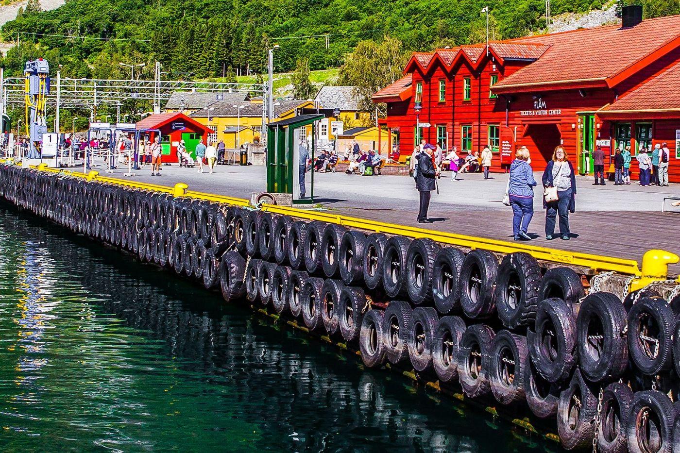 挪威弗拉姆铁路(Flam Railway),美丽的小站_图1-7