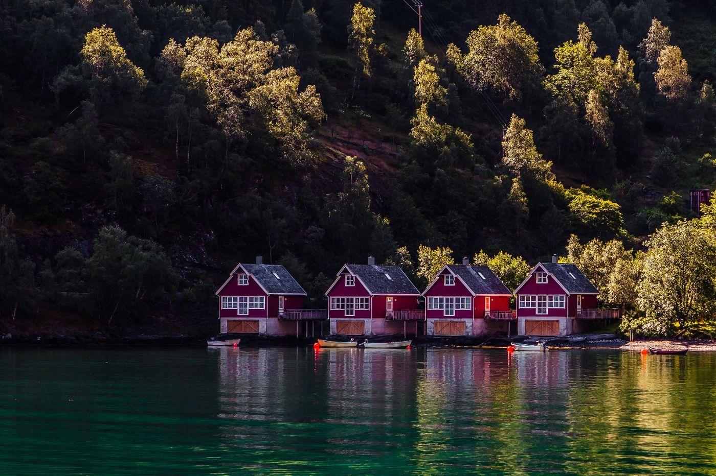 挪威弗拉姆铁路(Flam Railway),美丽的小站_图1-1