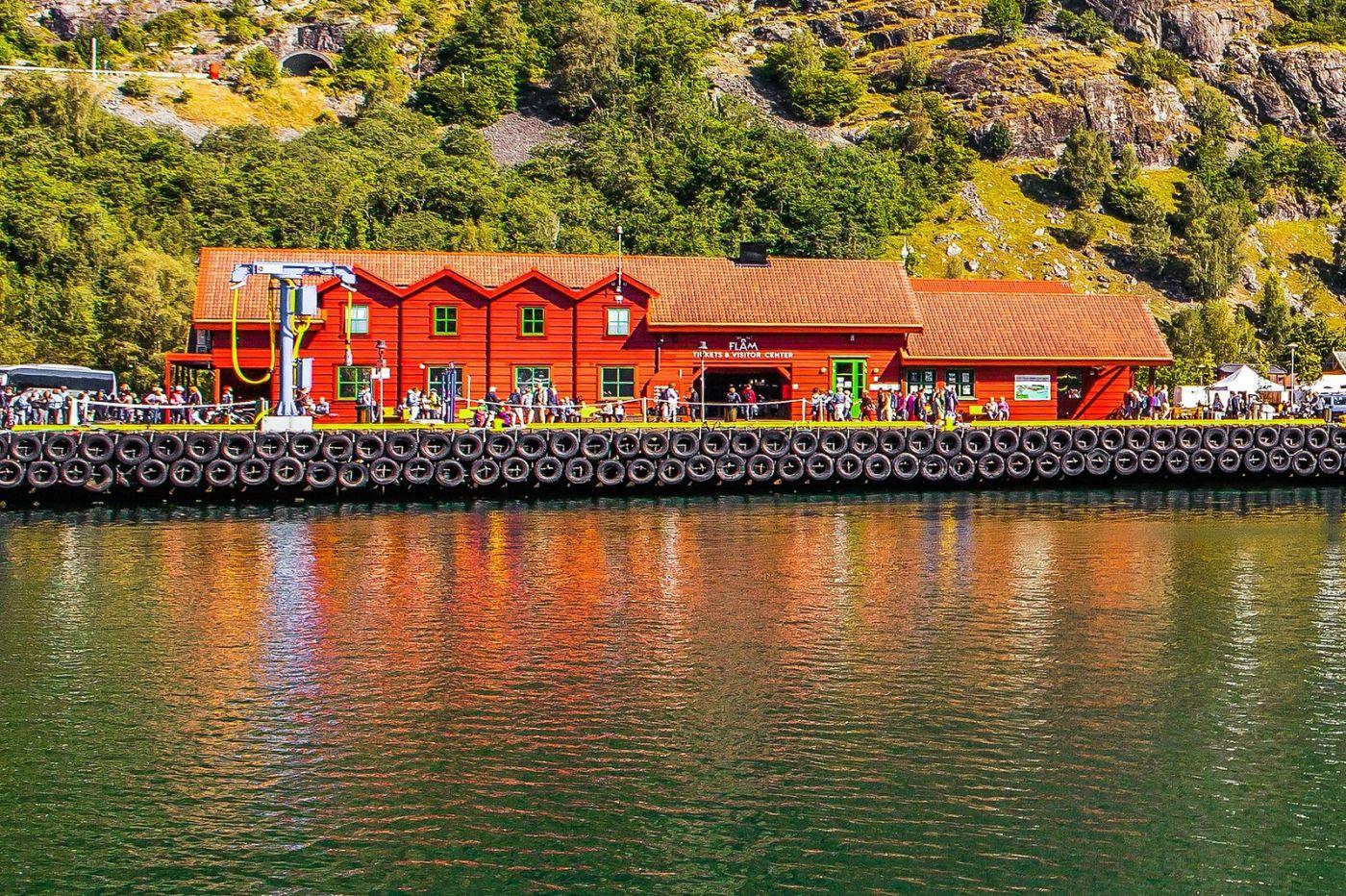 挪威弗拉姆铁路(Flam Railway),美丽的小站_图1-4