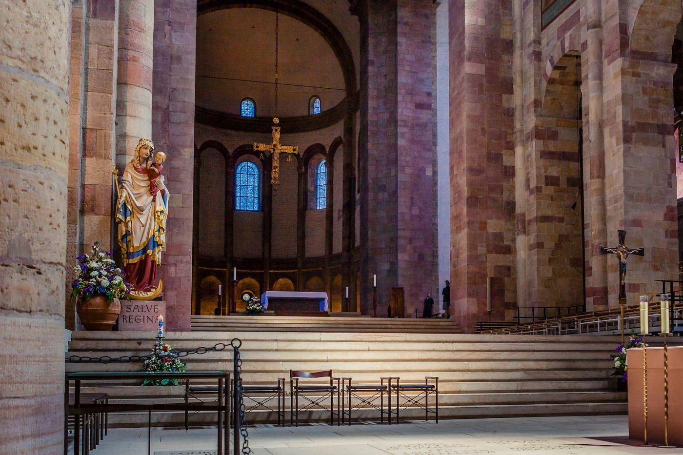 德国施派尔(Speyer)大教堂,标志建筑_图1-17