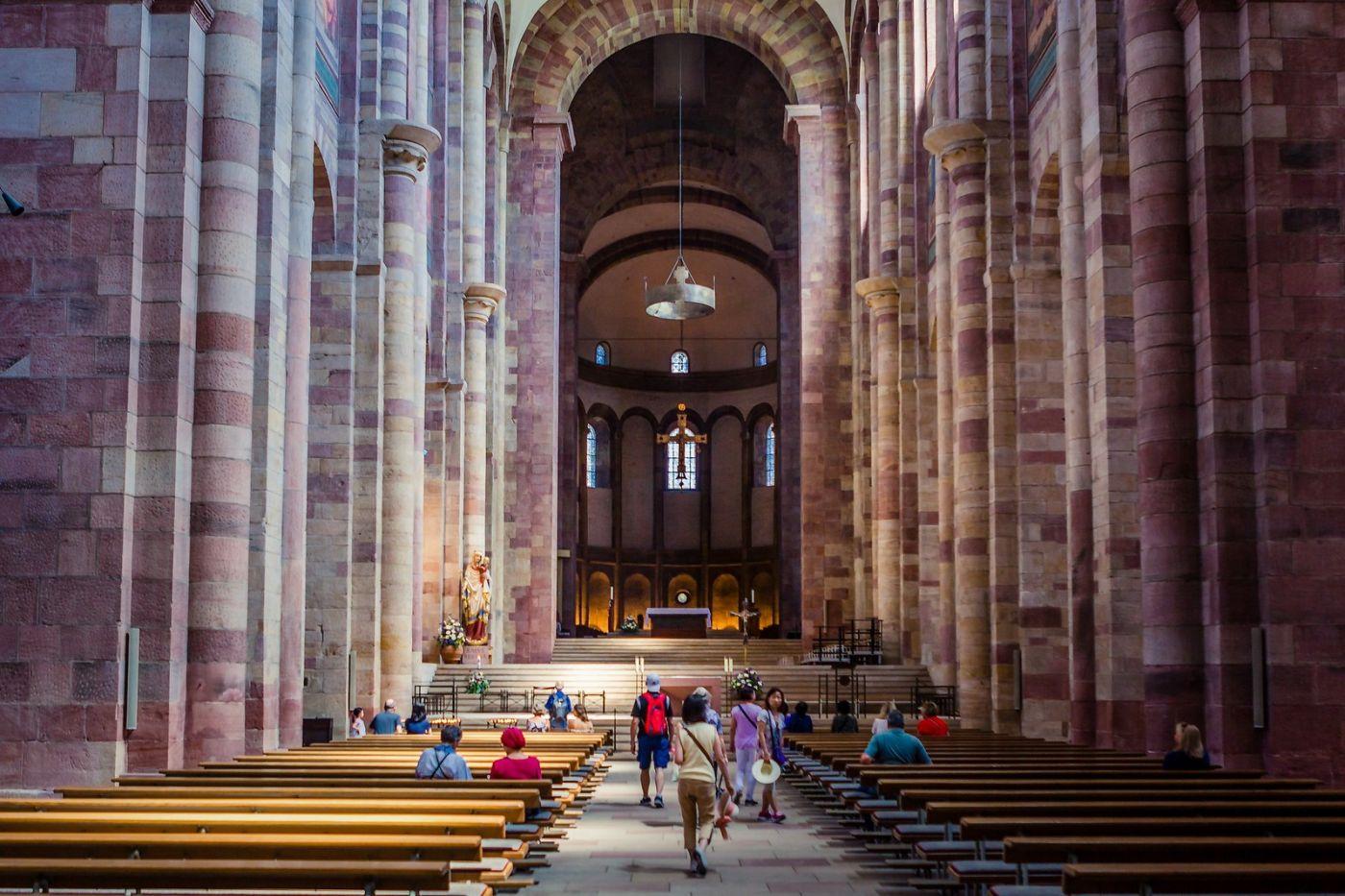 德国施派尔(Speyer)大教堂,标志建筑_图1-9
