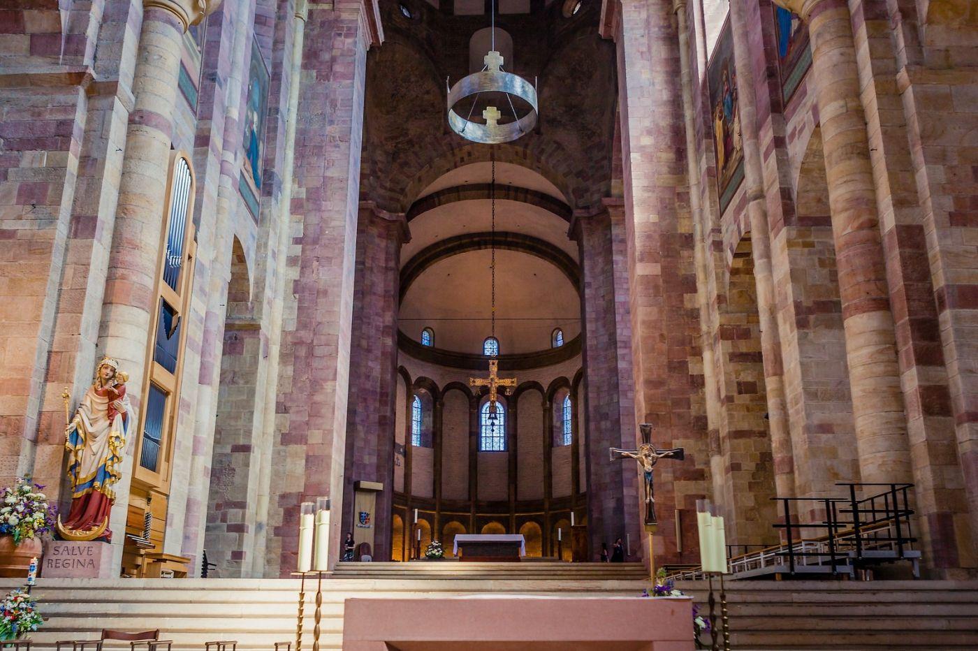德国施派尔(Speyer)大教堂,标志建筑_图1-4