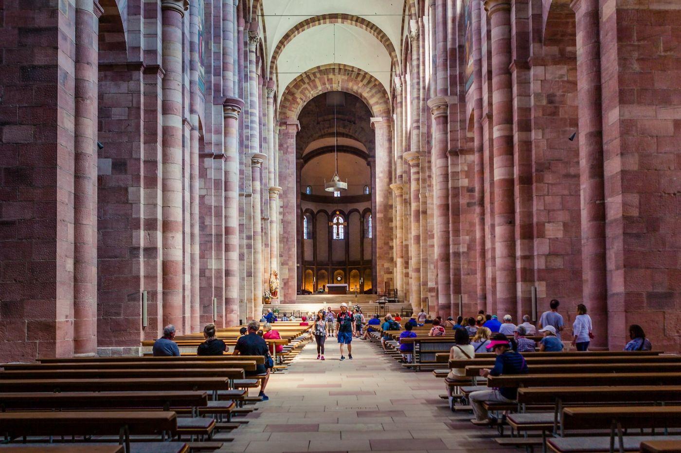 德国施派尔(Speyer)大教堂,标志建筑_图1-2