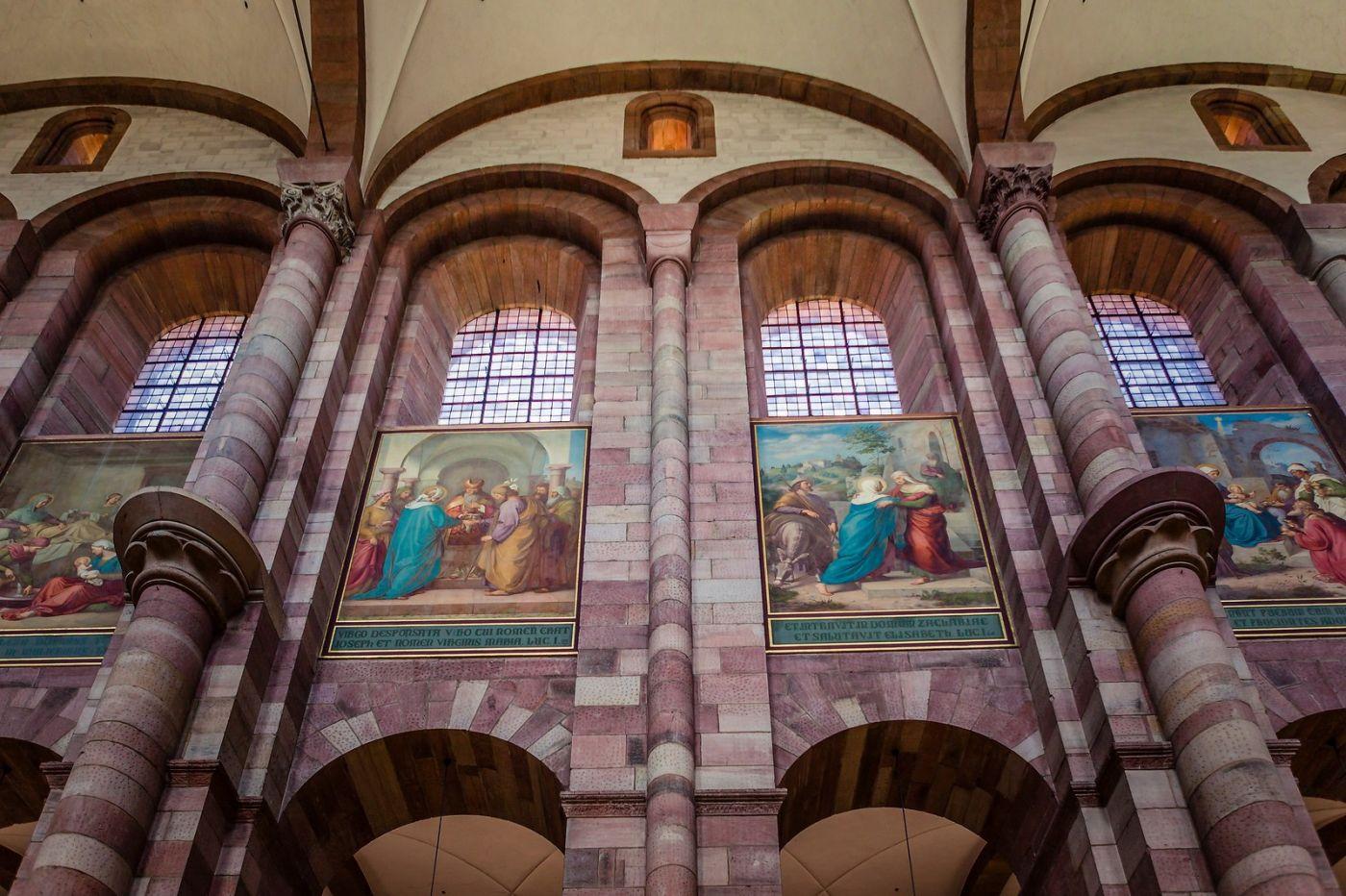 德国施派尔(Speyer)大教堂,标志建筑_图1-6