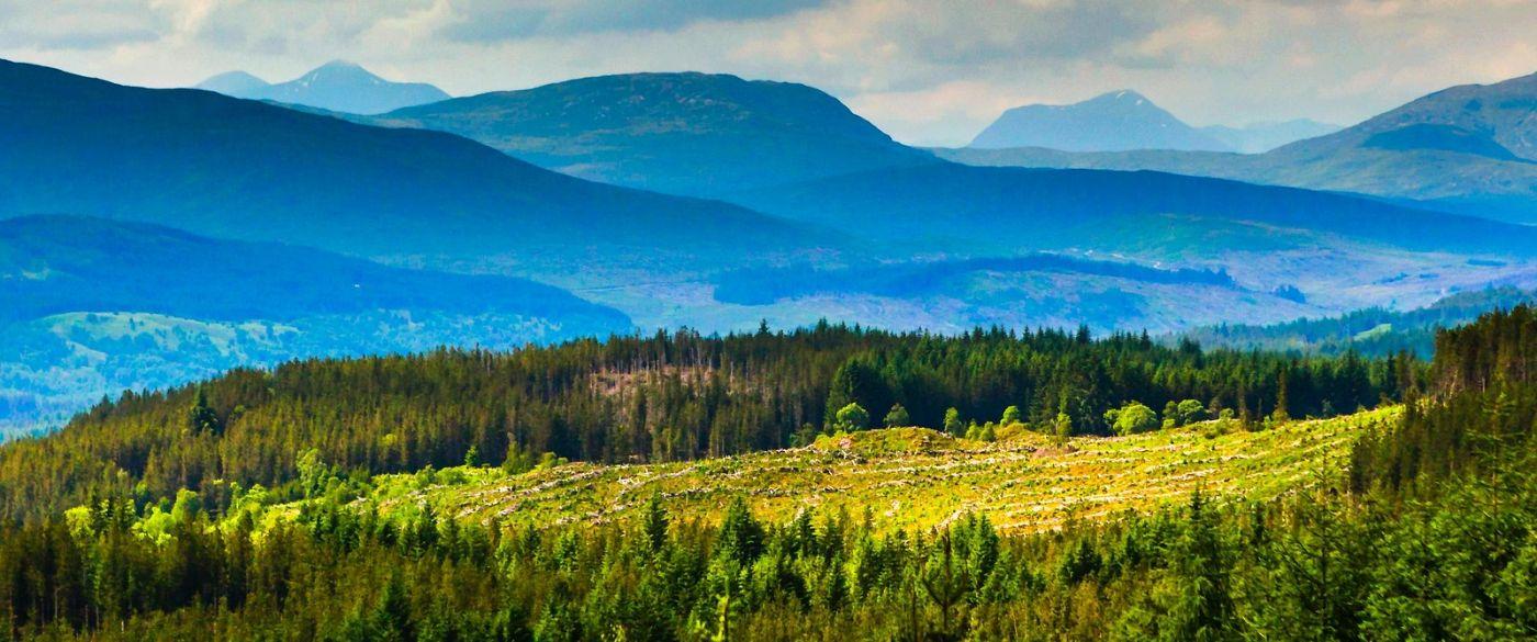 苏格兰美景,风景画看不完_图1-5