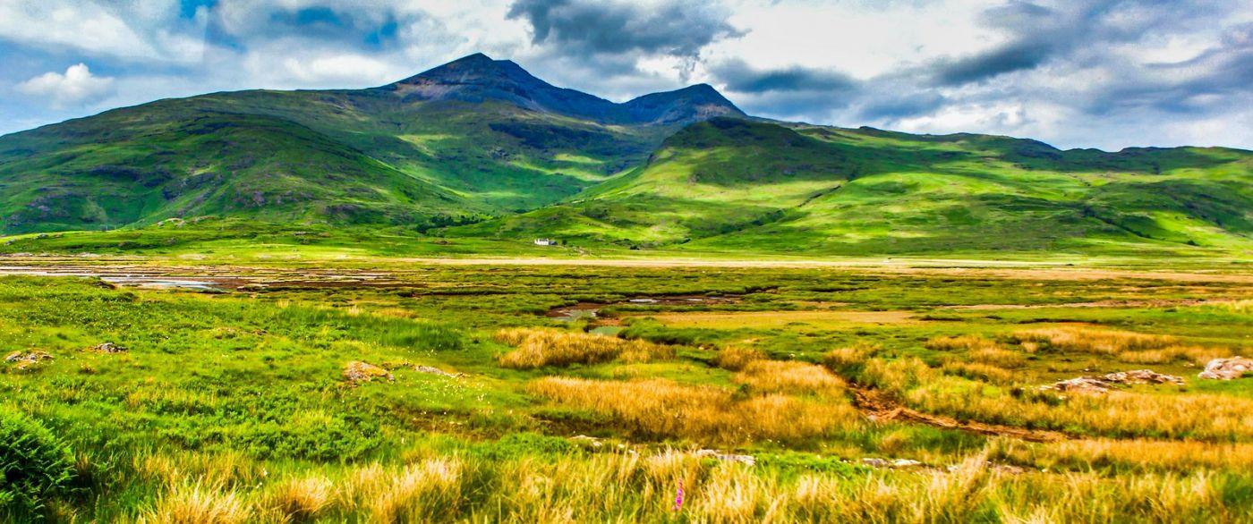 苏格兰美景,风景画看不完_图1-1
