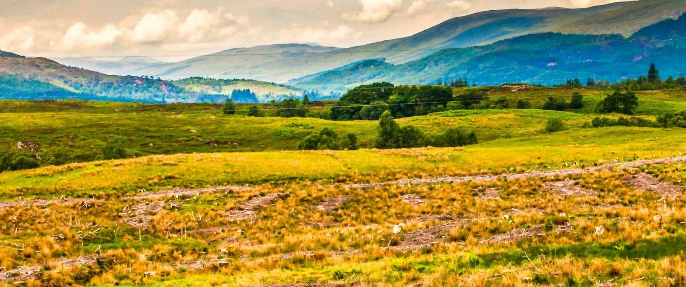 苏格兰美景,风景画看不完_图1-18