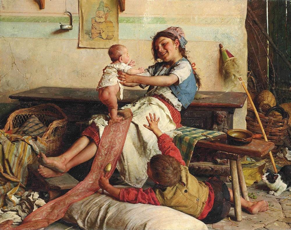 百多年前旧画作_图1-1