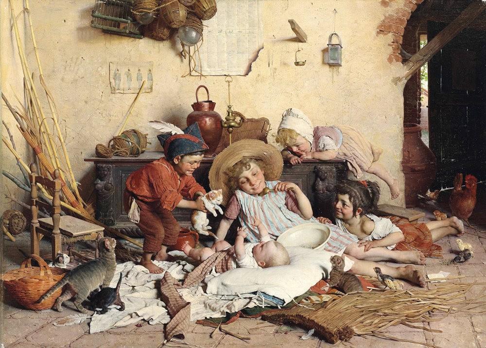 百多年前旧画作_图1-7