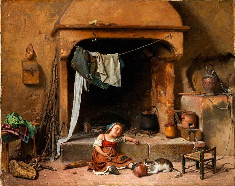 百多年前旧画作_图1-8