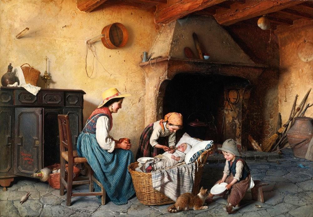 百多年前旧画作_图1-11