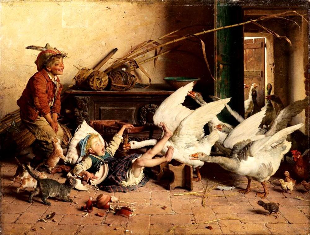 百多年前旧画作_图1-12