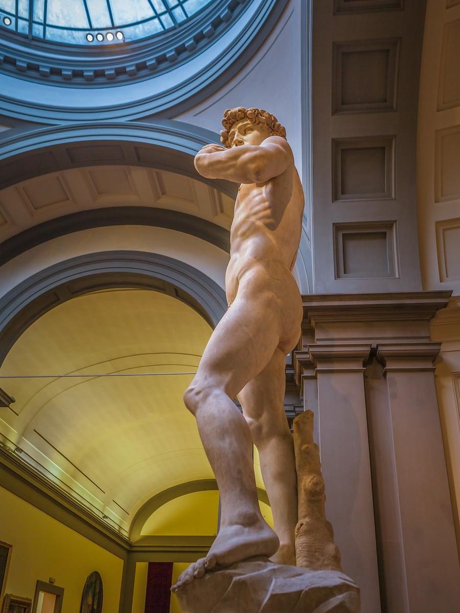 佛罗伦萨学院美术馆(Accademia Gallery),原汁原味的大卫_图1-2