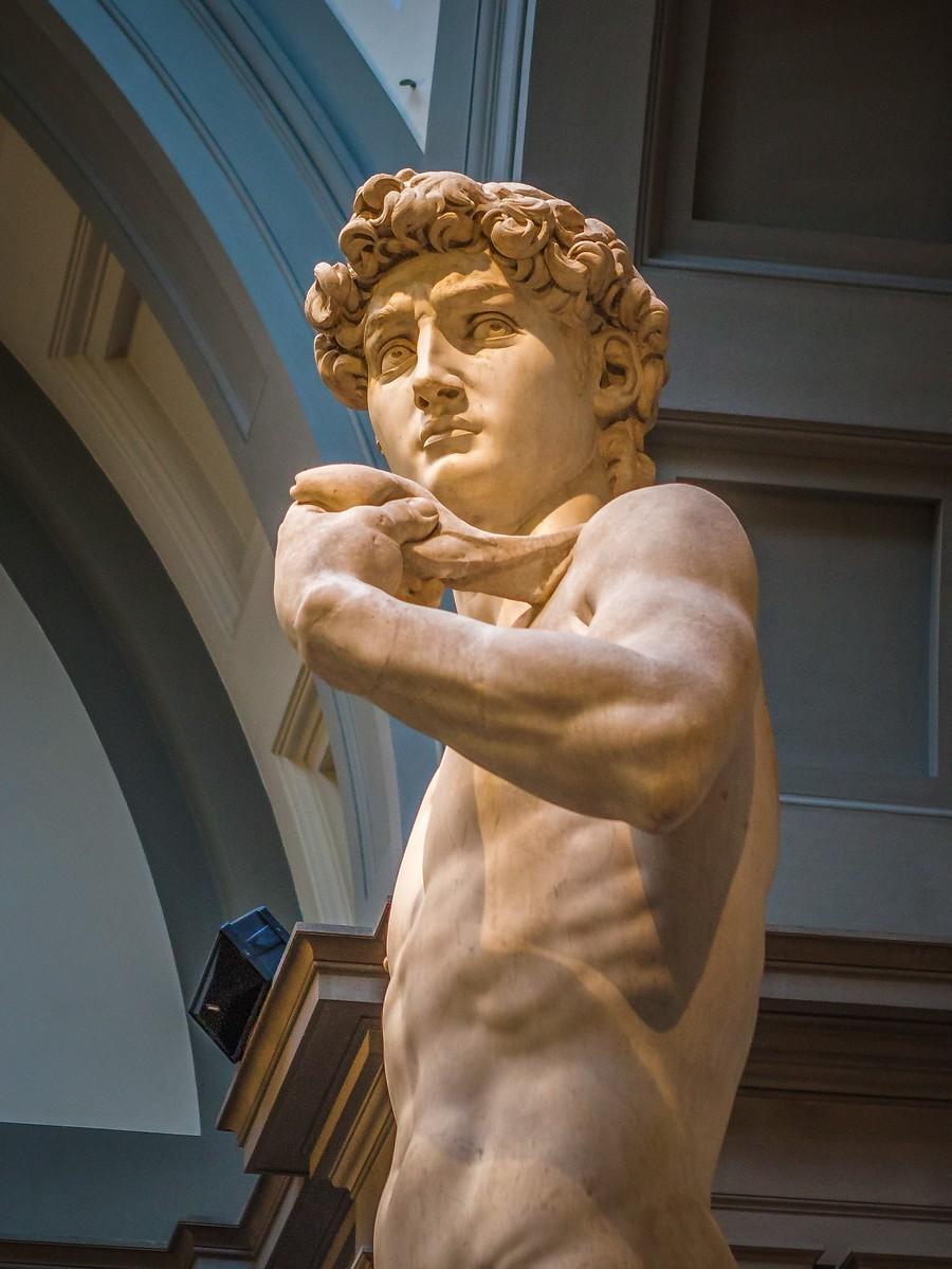 佛罗伦萨学院美术馆(Accademia Gallery),原汁原味的大卫_图1-1