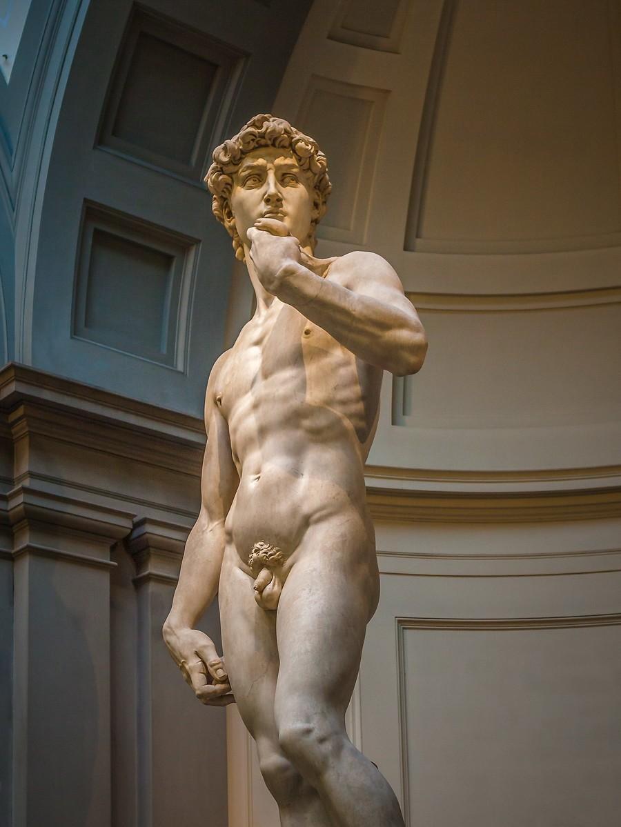 佛罗伦萨学院美术馆(Accademia Gallery),原汁原味的大卫_图1-7