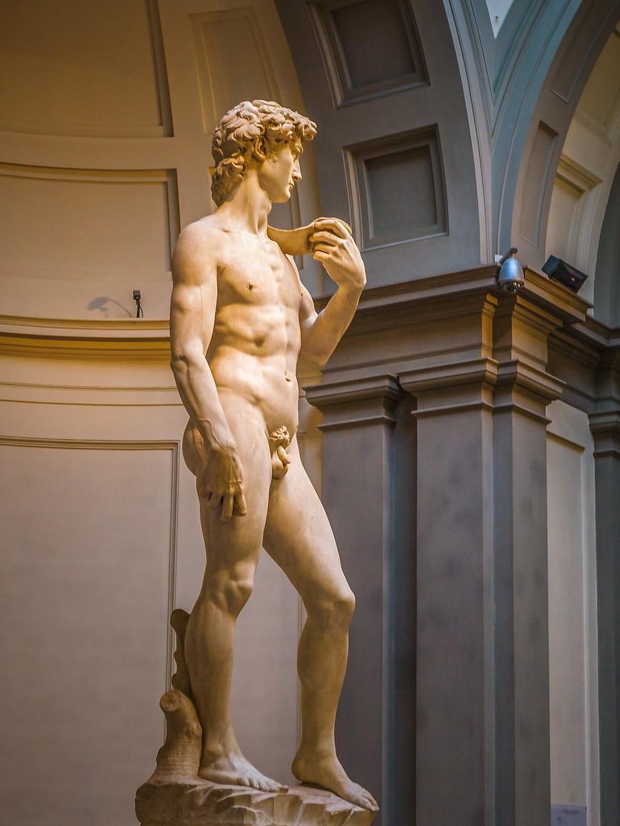 佛罗伦萨学院美术馆(Accademia Gallery),原汁原味的大卫_图1-4