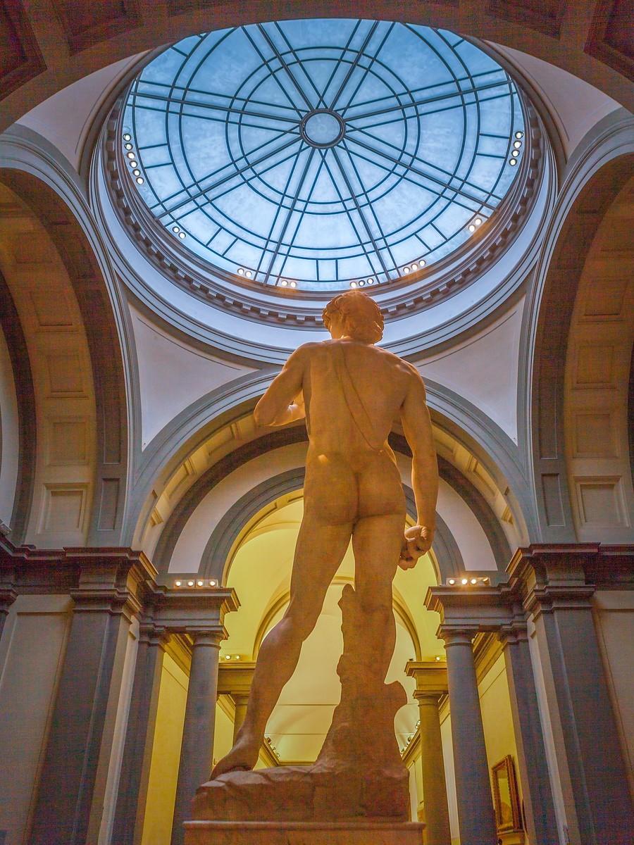 佛罗伦萨学院美术馆(Accademia Gallery),原汁原味的大卫_图1-3