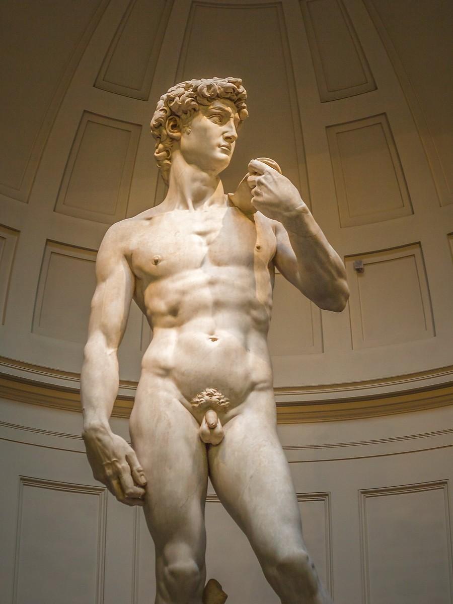 佛罗伦萨学院美术馆(Accademia Gallery),原汁原味的大卫_图1-6