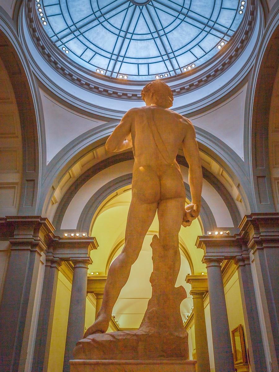 佛罗伦萨学院美术馆(Accademia Gallery),原汁原味的大卫_图1-5