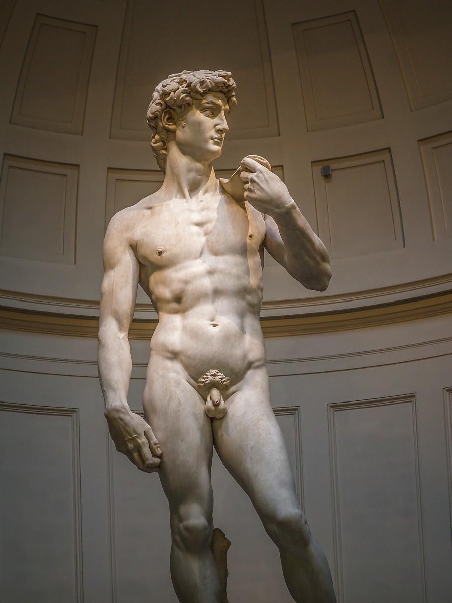 佛罗伦萨学院美术馆(Accademia Gallery),原汁原味的大卫_图1-9