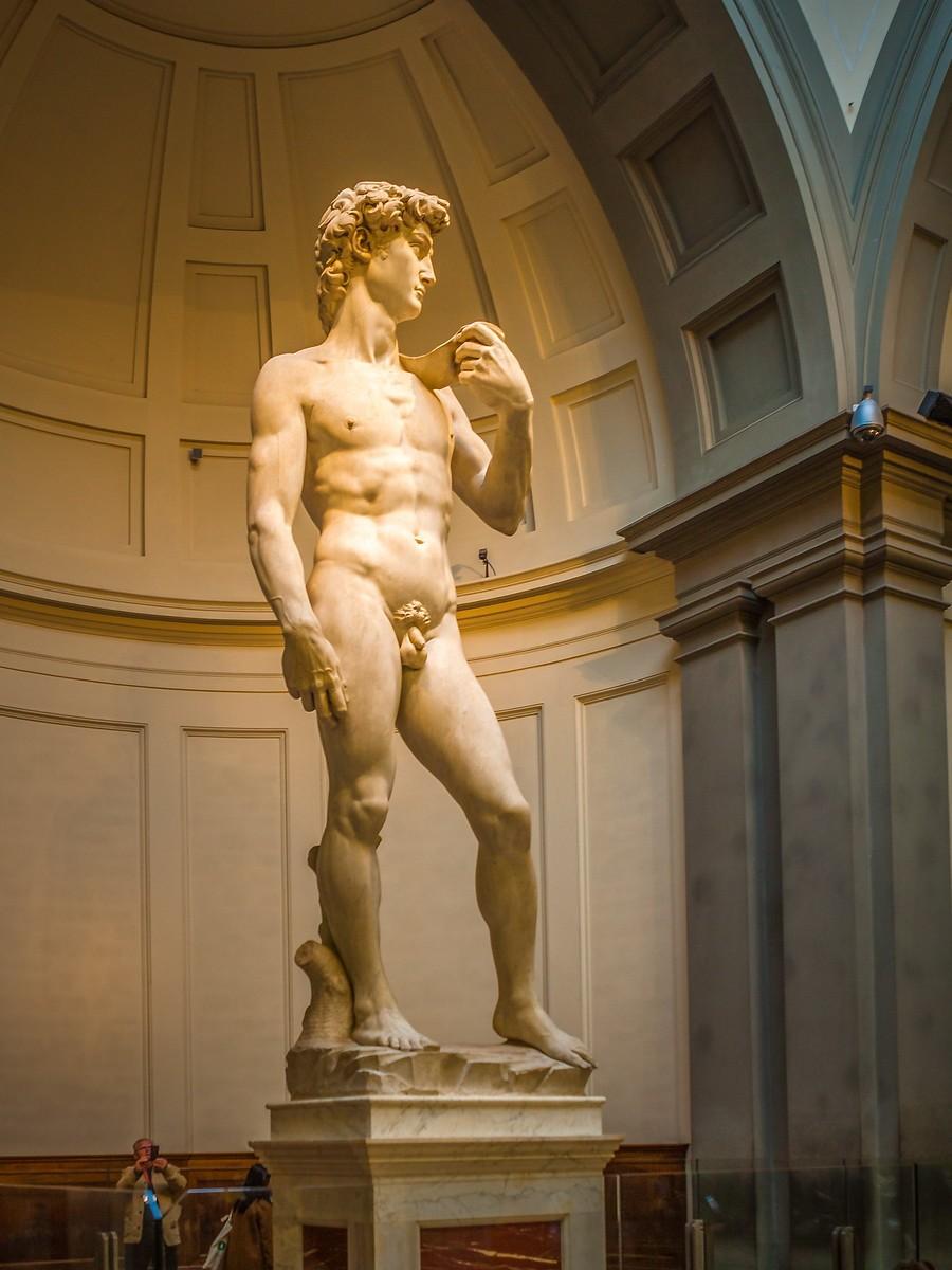 佛罗伦萨学院美术馆(Accademia Gallery),原汁原味的大卫_图1-8