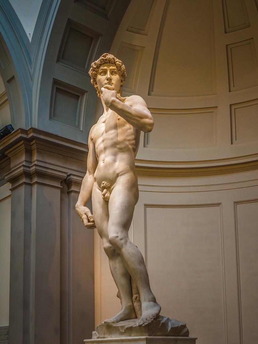 佛罗伦萨学院美术馆(Accademia Gallery),原汁原味的大卫_图1-10