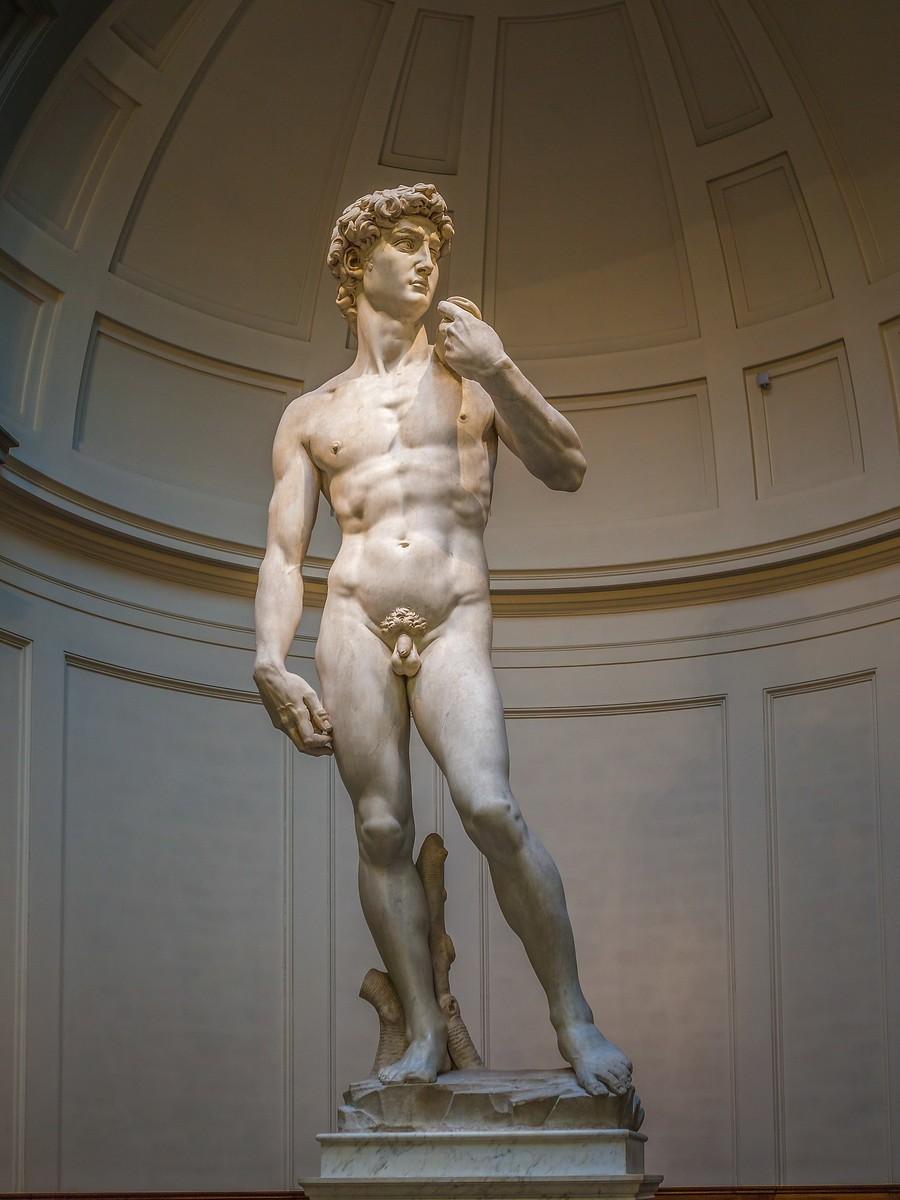 佛罗伦萨学院美术馆(Accademia Gallery),原汁原味的大卫_图1-12