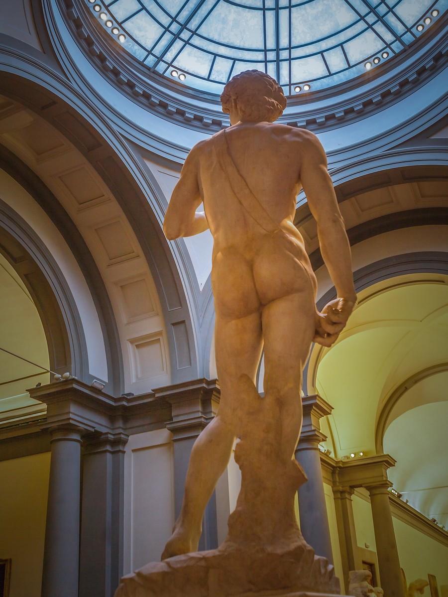 佛罗伦萨学院美术馆(Accademia Gallery),原汁原味的大卫_图1-11
