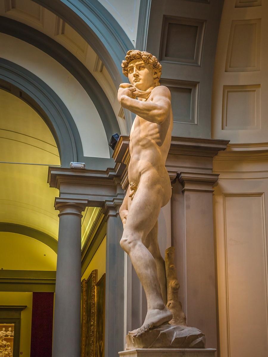 佛罗伦萨学院美术馆(Accademia Gallery),原汁原味的大卫_图1-13