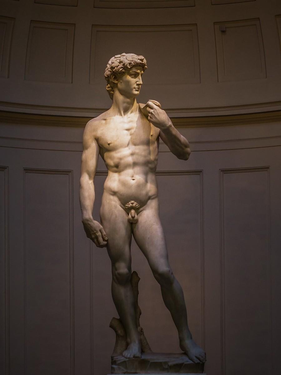 佛罗伦萨学院美术馆(Accademia Gallery),原汁原味的大卫_图1-14