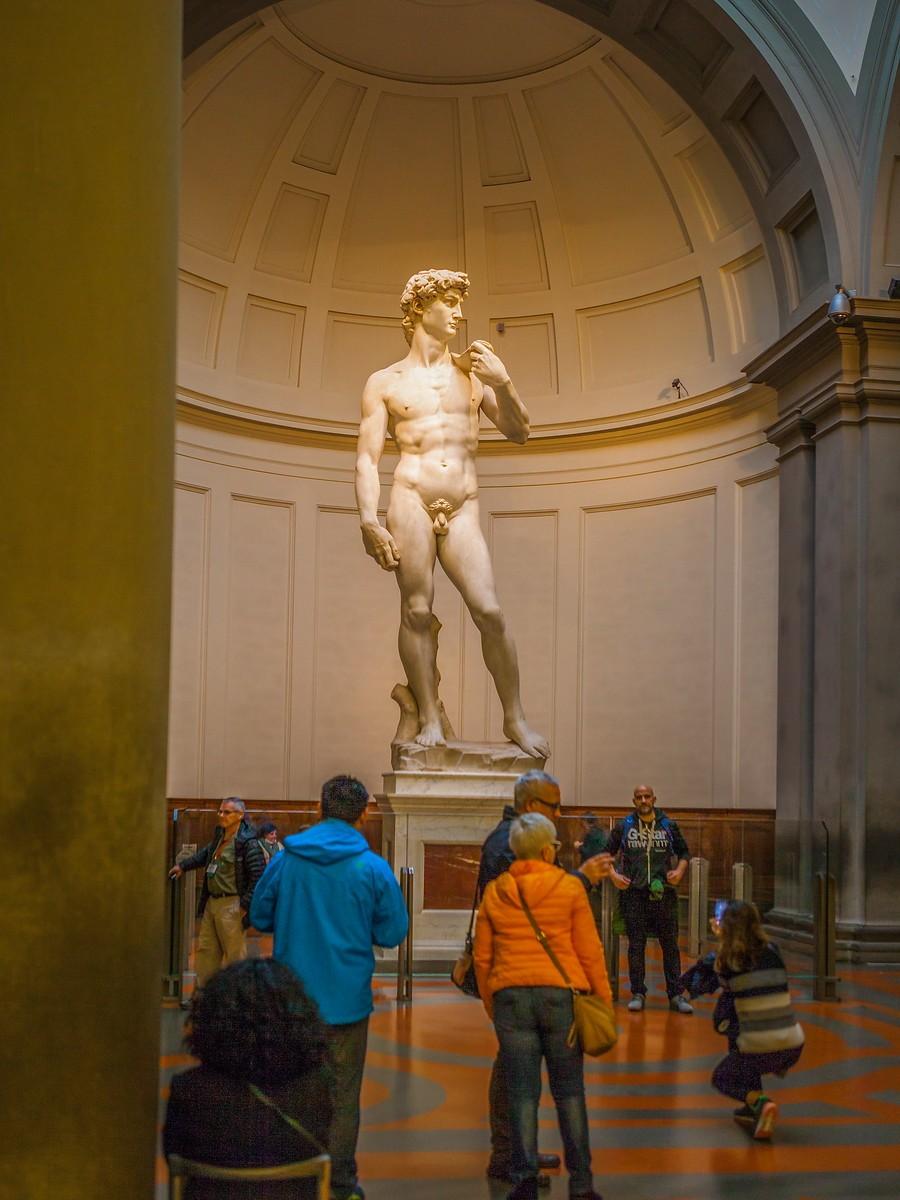 佛罗伦萨学院美术馆(Accademia Gallery),原汁原味的大卫_图1-18