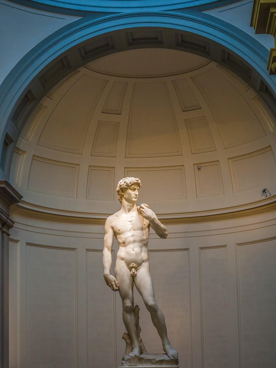 佛罗伦萨学院美术馆(Accademia Gallery),原汁原味的大卫_图1-19