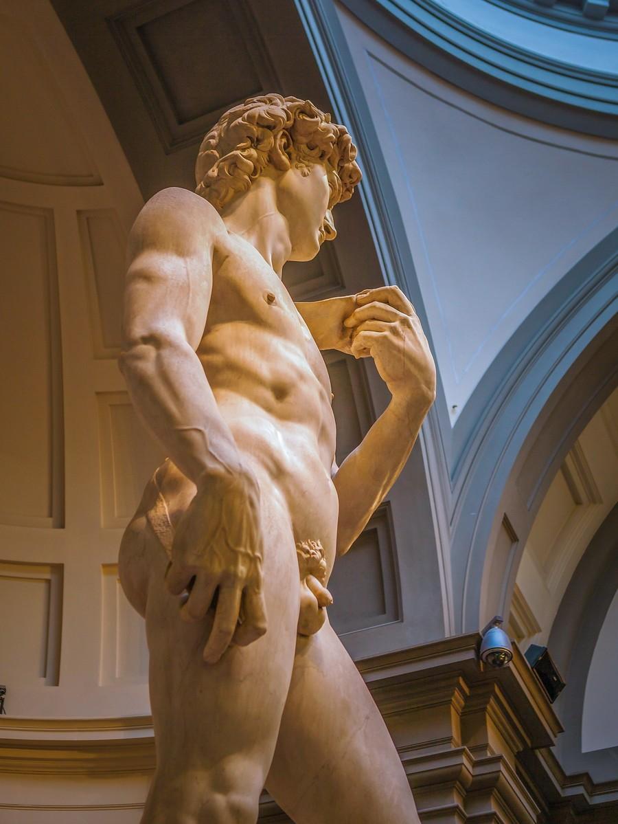 佛罗伦萨学院美术馆(Accademia Gallery),原汁原味的大卫_图1-22