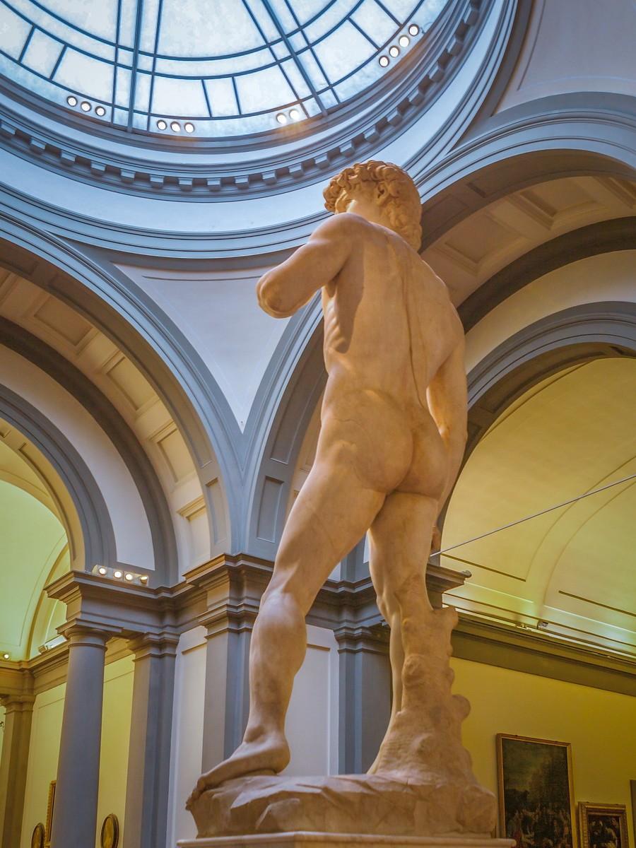 佛罗伦萨学院美术馆(Accademia Gallery),原汁原味的大卫_图1-23