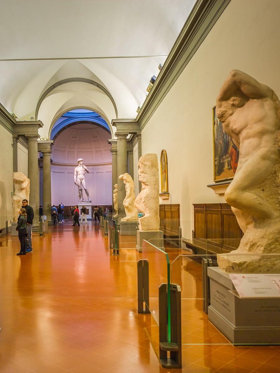 佛罗伦萨学院美术馆(Accademia Gallery),原汁原味的大卫_图1-25