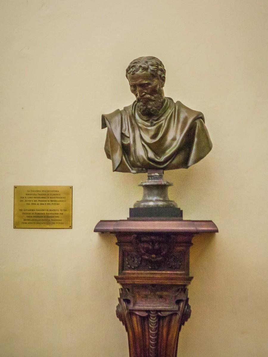 佛罗伦萨学院美术馆(Accademia Gallery),原汁原味的大卫_图1-24